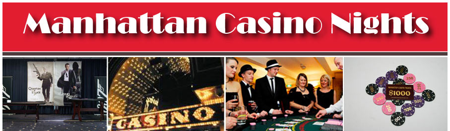 Manhattan Casino Nights, Mobile Casino Hire and Event Entertainment, Cheshire & North West