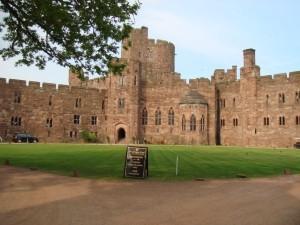 Nicky & Adam peckforton Castle