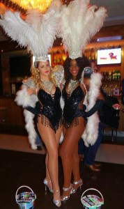 Showstoppers Showgirls White Feathers